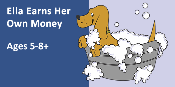 Ella earns her money logo